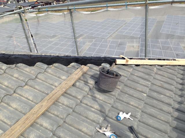 屋根の部分補修2