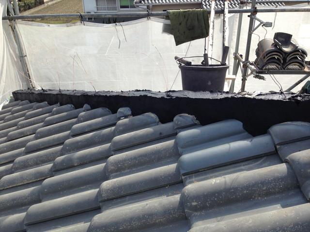 屋根の部分補修